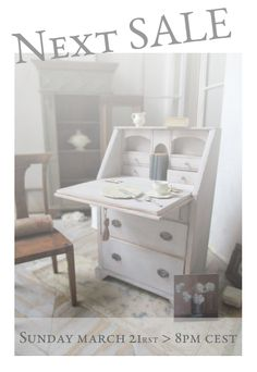 Shabby Chic Style, Decorative Accessories, Table, Furniture, Home Decor, Atelier, Arts And Crafts, Decoration Home, Room Decor