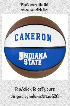 Indiana State Logo Basketball - tap, personalize, buy right now! #Basketball #indiana #state #university, #indiana, #sycamores,