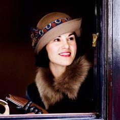 Lady Mary Crawley of Downton Abbey