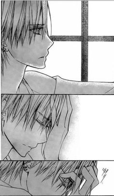 """Don't go away..."" Zero Kiryu <3"