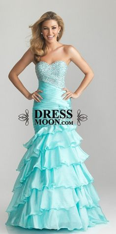 2015 prom dress, mermaid style taffeta sweetheart ice blue evening dress for teens, formal dress #promdress #prom2k15