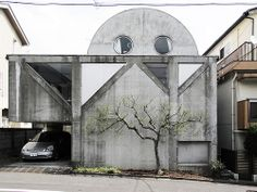 Kazuo Shinohara, House in Uehara, 1976 Architecture Du Japon, Architecture Program, Interior Architecture, Interior And Exterior, John Pawson, Famous Architects, Exhibition, Japanese House, Brutalist
