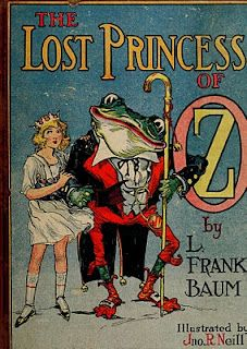 """""""The Lost Princess Of Oz Book"""" By L Frank Baum & Illustrated By John R Neill Published By Reilly & Britton Company Vintage Book Covers, Vintage Children's Books, Vintage Ephemera, Antique Books, Vintage Cards, Illustration Art Nouveau, Children's Book Illustration, Book Illustrations, Wizard Of Oz Book"""