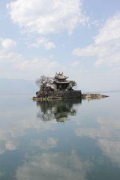 erhai lake-dali, china