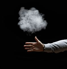 Make Smoke Appear from your Fingertips: Although the smoke magic trick looks awesome if you use your hands, you may wish to wear disposable plastic gloves to avoid absorbing phosphorus through your skin.