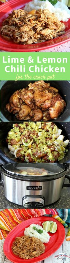 A delicious and easy low carb chicken recipe for your crock pot! So flavorful and so so so easy!