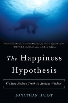 #17 The Happiness Hypothesis - Jonathan Haidt    Read this after reading the Righteous Mind by Haidt.  This book has inspired me to start meditating.
