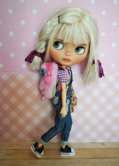 Blythe Backpack Lilac by BlythebyCihui on Etsy