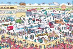 wheres wally airport - Google Search