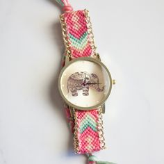 ELEPHANT FRIENDSHIP BRACELET - Watch