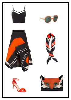 """""""Foxy Lady"""" by liinasworld ❤ liked on Polyvore featuring Peter Pilotto, New Look, Charlotte Russe, Mondelliani, Christian Dior and plus size clothing"""