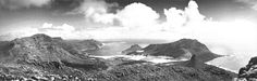 Hout Bay Valley, in the .seen from the back of Table Mountain Old Pictures, Old Photos, Vintage Photos, Table Mountain, Cape Town, 1930s, South Africa, Past, Old Things