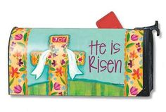 Magnet Works Mailwraps Mailbox Cover - He is Risen