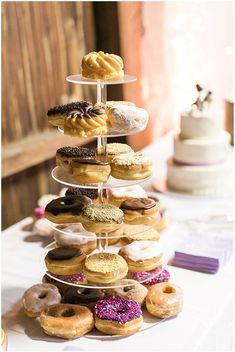 Donut Cake  | The Budget Savvy Bride