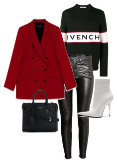 """""""Untitled #22727"""" by florencia95 ❤ liked on Polyvore featuring Givenchy, H&M, Jeffrey Campbell and Yves Saint Laurent"""