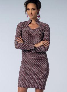 V1429 | Vogue Patterns dress by Sandra Betzina.