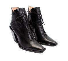 "Fluevog Shoes - Item detail: Prince George 4"" Heeled Cowboy Ankle Boot"