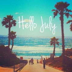 Hello July! Be productive now.