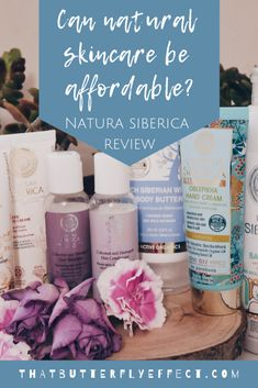 Can natural skincare be affordable? YES! {Review of Natura Siberica range} - Natural Skin Care, Natural Beauty, Coloured Hair, Beauty Box, Hand Cream, Body Butter, Skincare, Butterfly, Range