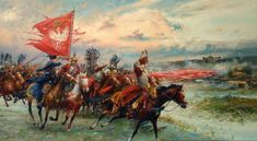 Dariusz caballeros: Husaria of Miroslaw Szeib Poland History, Horse Anatomy, Fiction, Cow Painting, Military History, Great Artists, Renaissance, Cute Animals, Art Prints