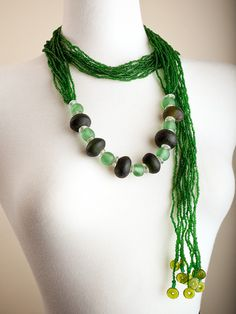 Long Emerald Wrap