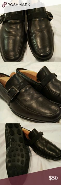 Taryn Rose Buckle Monk Drivers Gently worn black drivers with buckle. Nice addition to your collection. Men's  Size 9.5 8/10 Taryn Rose Shoes Loafers & Slip-Ons