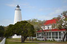 Ocracoke Lighthouse by C. Paul Brock