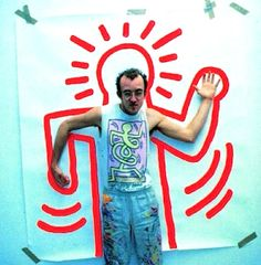 Pop Art Projects Keith Haring New Ideas Pop Art, Arte Pop, Jm Basquiat, Keith Haring Art, Street Art, Ecole Art, Middle School Art, Arts Ed, Art Classroom
