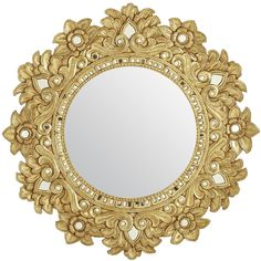 Carved Floral Mirror | Pier 1 Imports