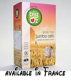 B0758JP1M5 : Big Oz | Jumbo Oats | 2 x 5 x 500g. Jumbo Oats. Gluten Free. Vegan. Known Barcodes: 5060044770395 5060044770395
