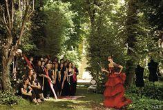Vogue - lacroix red