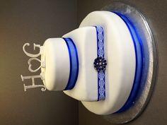 Wedding cake blue - Torte per Tutti