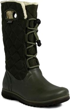 Bogs boots. - because Jackson now has to be walked every day