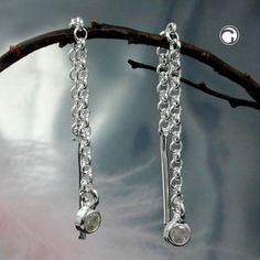 Durchzieher, Zirkonia, Silber 925 accessorize24-92777