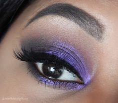 Beautiful look by Kayla of Sheer Beauty Blog using Makeup Geek's new Caitlin Rose Foiled Eyeshadow. Click to see more!