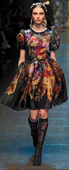 Bohemian Style from Dolce & Gabbana ~ Fall 2012