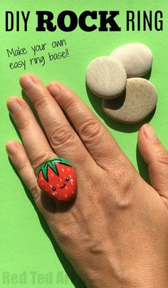 DIY Stone Ring - Kaw