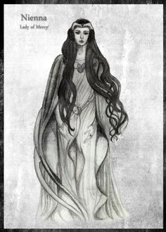 Ниэнна Nienna by SibylWhite on DeviantArt
