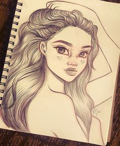 Little drawing I was working on the past couple days over my trip to DC worked on the plane on this a little too✈ really enjoyed working on the hair. Hope everyone's been doing well! Stay blessed! #art #draw #drawing #drawings #sketch #sketchbook #illustration #love #happy #hair #artist #disney #semirealism #fashion #beauty #instaart #instaartist #sketching #inspiration #Godisgoodallthetime