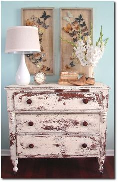 34 Ideas For Chippy, Distressed Painted Furniture