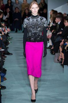 Oscar de la Renta Fall 2016 Ready-to-Wear Fashion Show - Julia Nobis