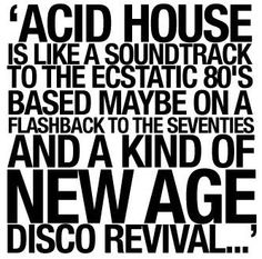 #AcidHouse