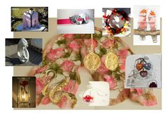 """""""Gifts"""" by stavrosdragatakis ❤ liked on Polyvore featuring art and dragatakisjewelry"""