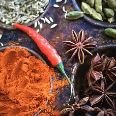 Spices ( shot at food photography course)