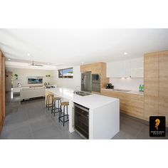 Another project this time using Nikpol's 16mm Egger board in Natural Arlington Oak in the kitchen, bathroom and living room joinery. Produced by Townsville Cabinetmaking and Joinery and developed by Ferngold Homes; this modern property is on display at 11 Ambrose Lane, Fairways at Townsville Golf Course, Rosslea Townsville. Stay tuned see more of this beautiful home!   See more via: http://www.ferngoldhomes.com.au/  #egger #nikpol #ferngoldhomes #woodgrain #interiordesign #modern