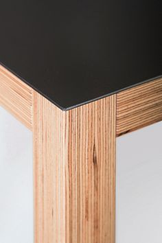 Extremely strong, new BauBuche laminated veneer lumber can carry heavier loads than softwood products. Laminate Furniture, Plywood Furniture, Furniture Design, Laminated Veneer Lumber, Beach House Furniture, Home Porch, Birch Ply, Grey Wood, Diy Woodworking