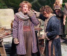 "What the heck... Bilbo:""DIE. DIE. DIE. Ori:""I'M MELTING."" BOFUR:""Sandwiches."""