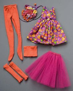 Dolls clothes tutorial ropa para muñecas