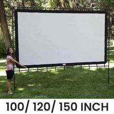 Backyard Movie Nights, Outdoor Movie Nights, Neighborhood Party, Outdoor Movie Screen, Movie Projector, Projection Screen, Family Night, Wide Angle, Houses