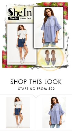"""""""SHEIn 6"""" by red-rose-girl ❤ liked on Polyvore featuring modern"""